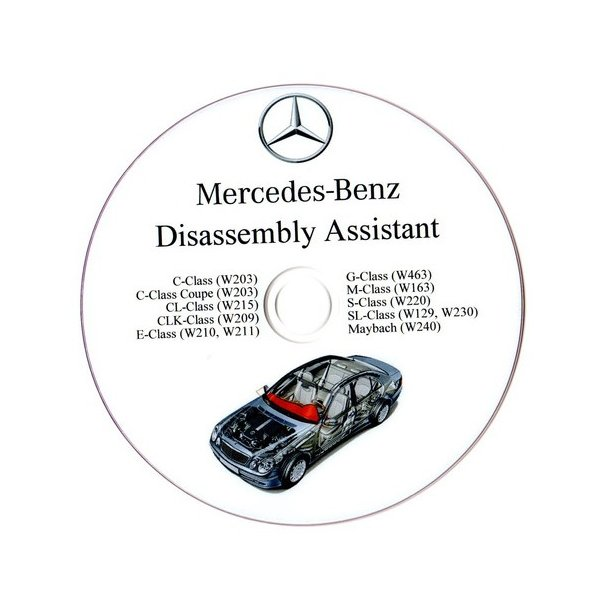 Mercedes Benz disassembly assistant
