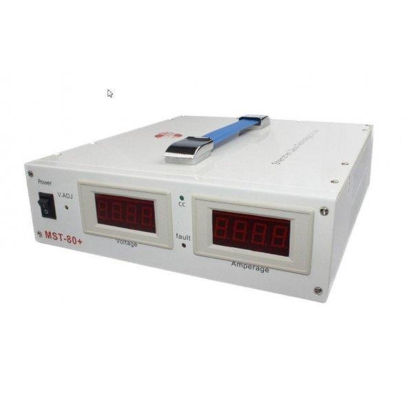 MST-80+ Spennings-regulator / spennings-stabilisator (100 Amper)