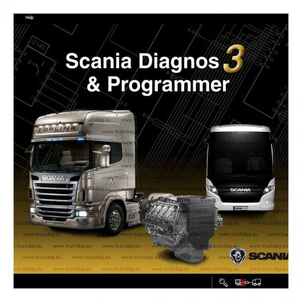 Scania VCI2 Truck Diagnostic Scanner 2.38